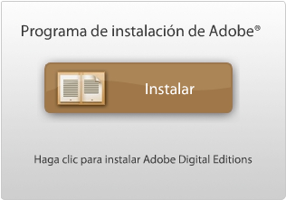 Botón de descarga de Adobe Digital Editions