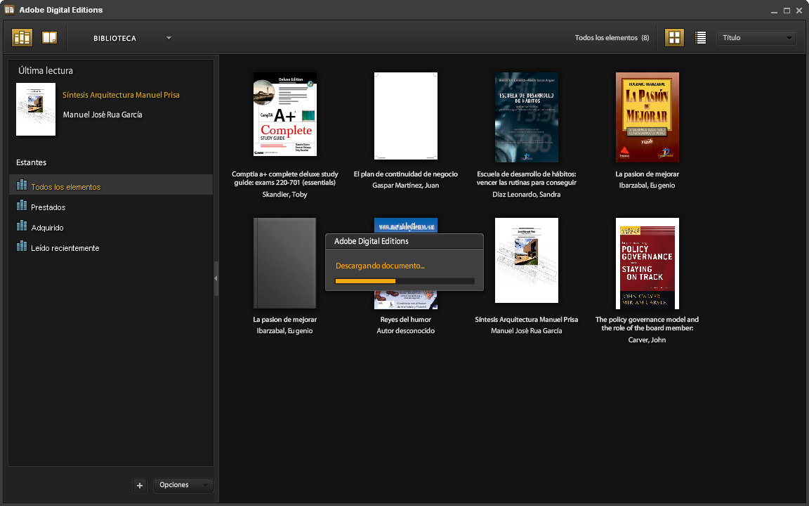 Descargargando eBook