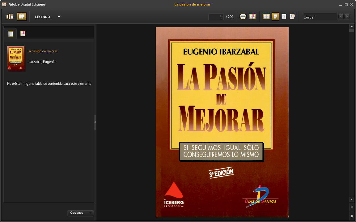 Visualizando eBook