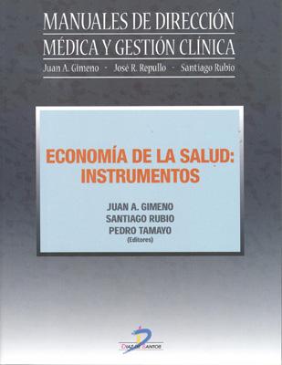 Portada de Economía de la salud: Instrumentos