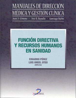 Portada de Función directiva y recursos humanos en sanidad