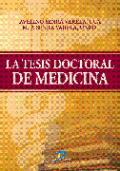 La tesis doctoral de medicina